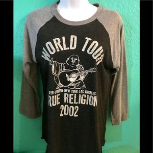 EUC True religion longsleeved shirt